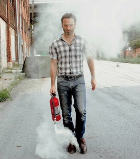 <3, andrew lincoln and leader