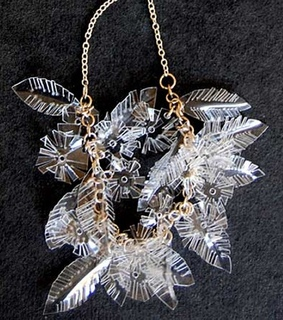 Recycled Plastic Bottles, Recycled Jewelry Ideas and Recycled Jewelry