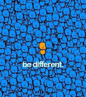be different, special and somting