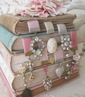 bookmarks, books and diy