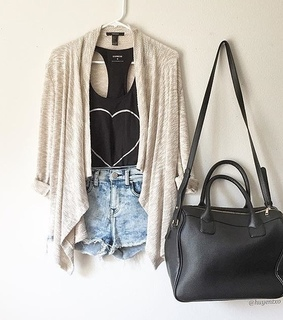 boot, cardigan and chic