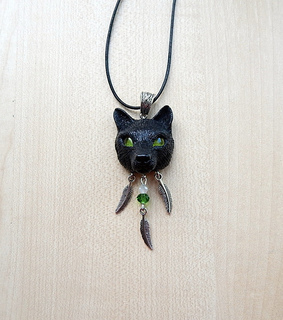 handmade jewelry, wolf and wolves