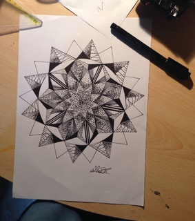 black and white, draw and drawing