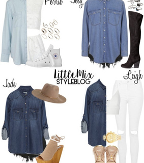 little mix, little mix inspired and perrie edwards style