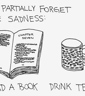 books, forgetting and sadness