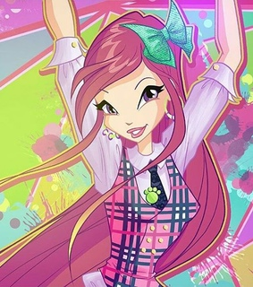 roxy, winx club and winx