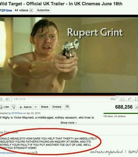 comments, funny and harry potter