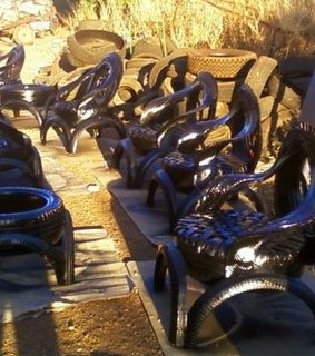furniture, Recycled Tires and Old Tires Recycling
