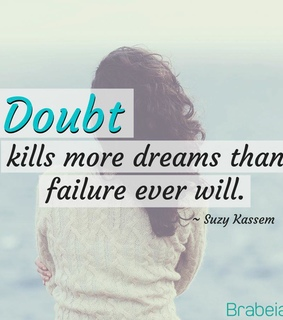 suzy kassem quotes and author doubt kills more dreams
