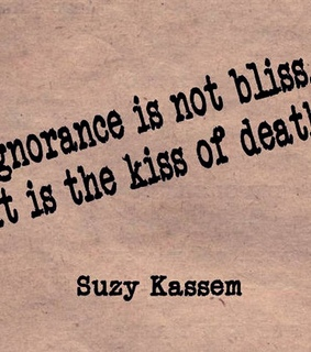 death, ignorance and kiss