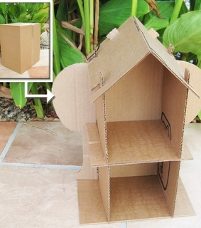 Recycled Cardboard, Kid Crafts and Cardboard Crafts