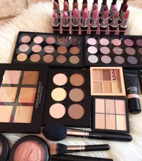 beauty, collection and cosmetics