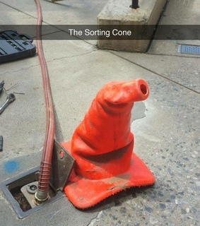 cone, hp and sorting hat