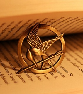 books, gale and katniss