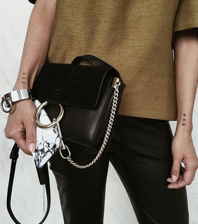 accessory, bag and black