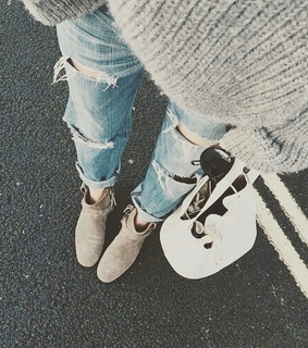 fashion, hipster and outfit