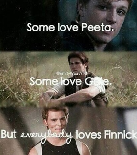 finnick, gale and love