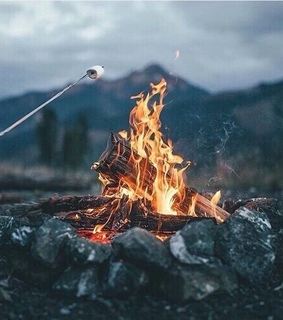 amazing, camping and fire
