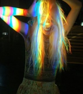 blonde, colorful and dance