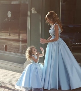 daughter, dress and love