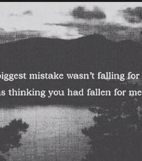 falling for you, tangled and thinking