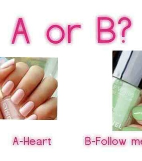 a, b and beauty