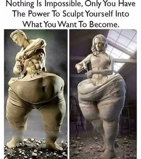 believe in yourself, determination and fit