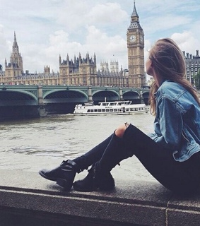 bigben, girl and grunge