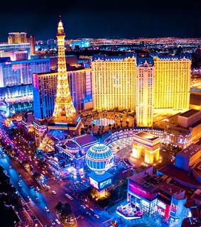 holiday, hotel and las vegas