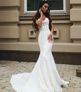 dress, lace wedding dress and princess