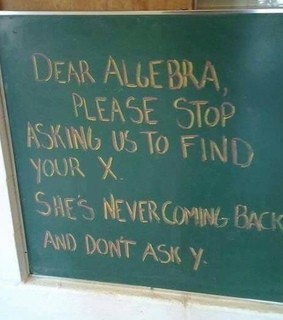 algebra and laughs