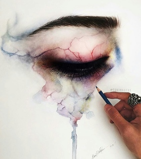 art, beautiful and colored pencils