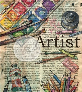 art, colours and crayons