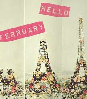 february, girls and hello