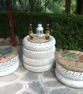 Recycled Tires, Recycled Tires Furniture and diy furniture