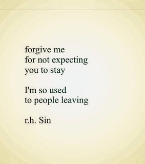 broken-hearted, forgive and leave
