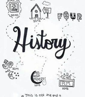 four, history and one direction