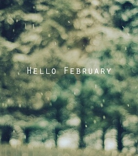 being happy, february and i love you