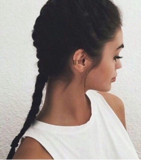 aesthetic, beauty and braids