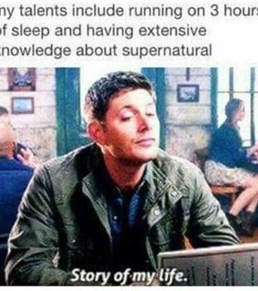 dean, funny and story of my life
