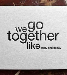 copy, love and paste