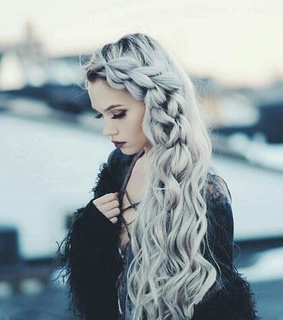 awesome, fashion and long hair