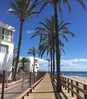 beach, espana and fuengirola