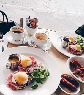 brunch, delicious and eggs