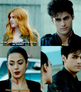 alec lightwood, clary and clary fray