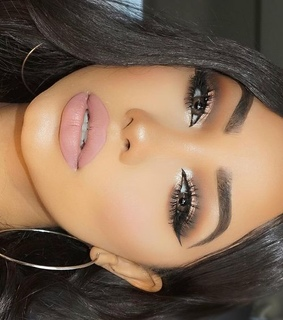 accessories, brown eyes and brows