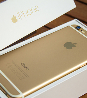 apple, gold and iphone