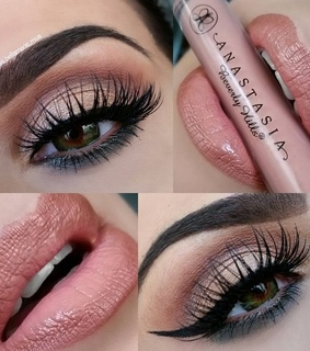beauty, eyes and makeup