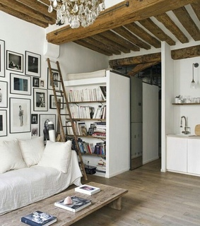 bookshelves, home decor and rustic