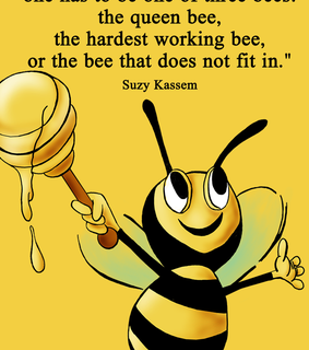 bees, success and suzy kassem